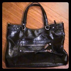 Jessica Simpson patent leather tote